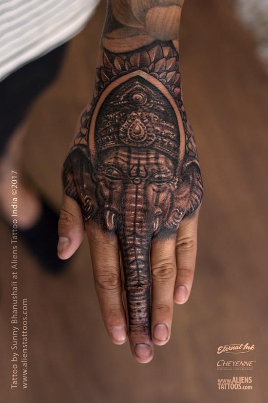 Lord Ganesha Tattoo