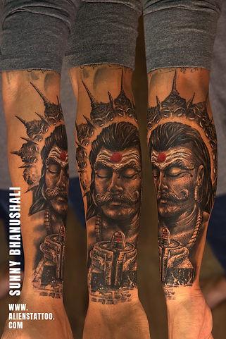 ravana-tattoo-realistic-portrait-tattoo
