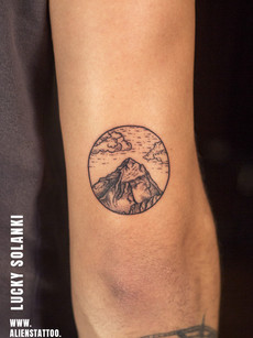 Traveller Mountain Tattoo | Lucky Solanki