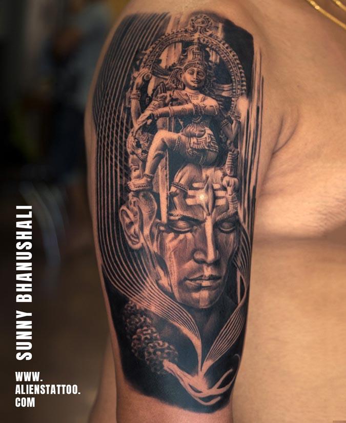 Best Lord Shiva Tattoo Designs | Aliens Tattoo