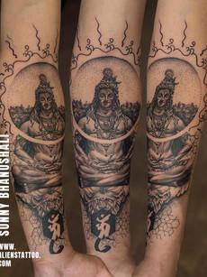 Shiva Tattoo | Om Tattoo
