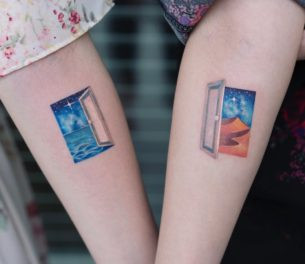 Doors-Couple-Tattoos