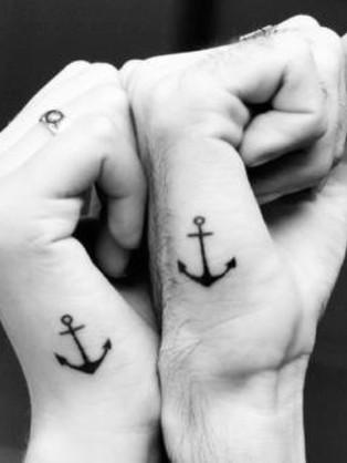 Anchor Couple Tattoo Ideas
