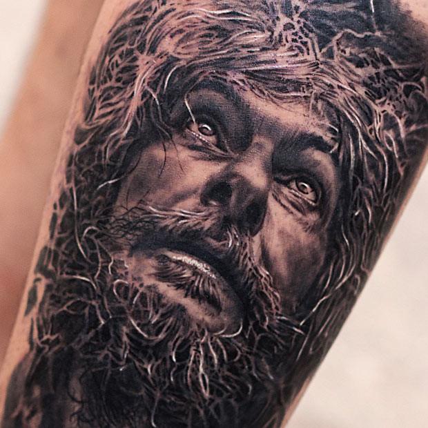 Old Man Christ Portrait