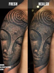 Healed-sunny-buddha-sculpture-tattoo-Ins