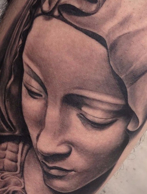 Mother Mary Tattoo - The Making