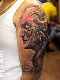 Snake Shiva Tattoo | Allan Gois