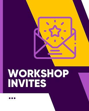 WorkShop Invites - Learn It Like Aliens