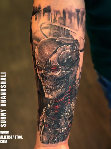 skull-tattoo-robot-bio-mech-tattoo