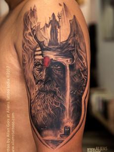 Aghori Shiva Tatoo | Aliens Tattoo