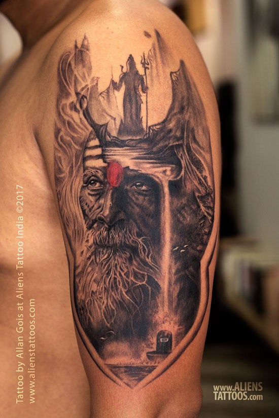 Best Lord Shiva Tattoo Designs | Aliens Tattoo