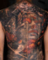 realistic-back-piece-tattoo-buddha-by-su