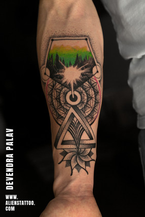 family-tattoo-spritual-mandala-geometry-