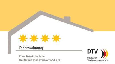 Schlummerkiste Dachgeschosswohnung 4 Sterne Zertifizierung bis 2021