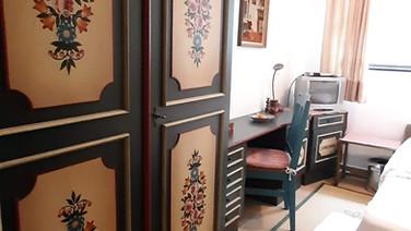 Schlummerkiste Lämmer DG kleines Schlafzimmer 01
