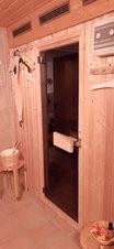 Schlummerkiste Lämmer Sauna im Untergeschoss 01