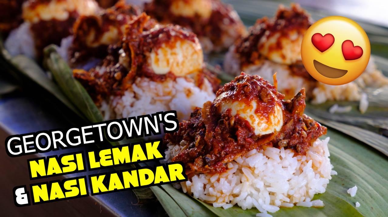 BEST Nasi Lemak & Nasi Kandar in Georgetown Penang!