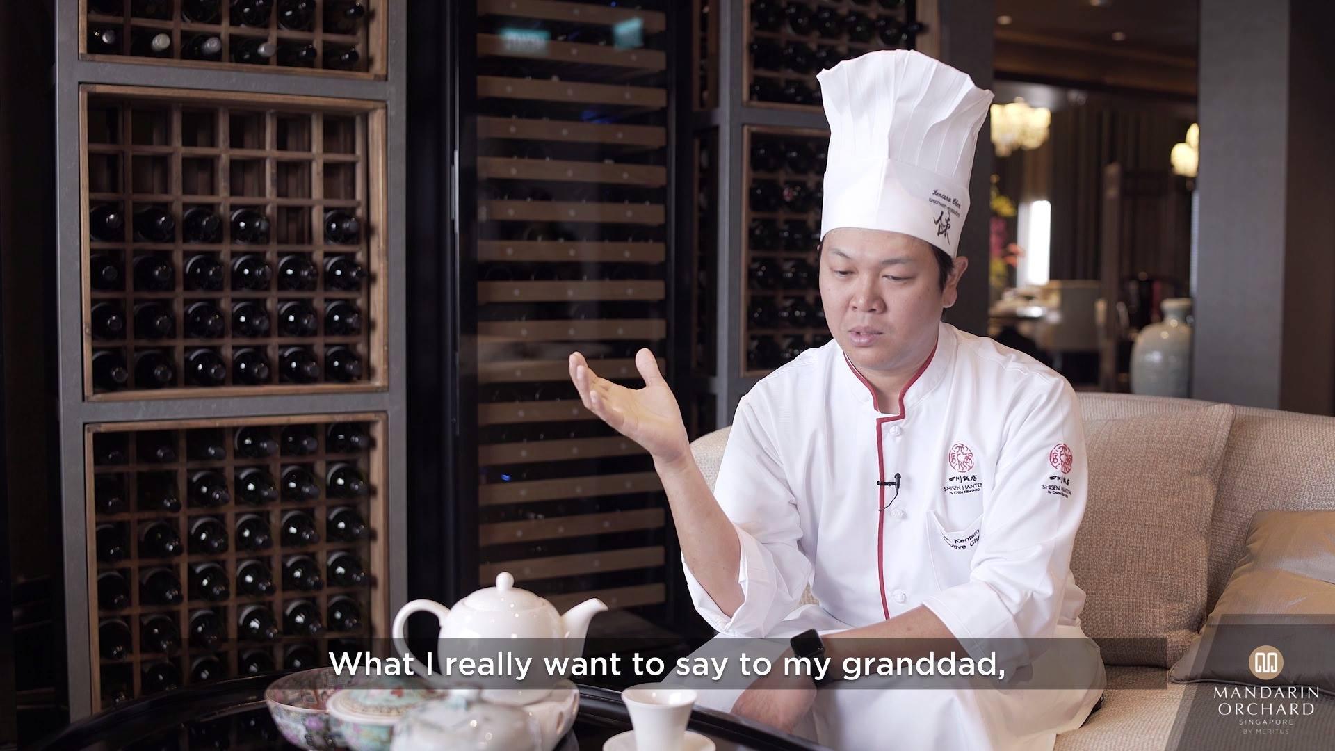 Mandarin Orchard Shisen Hanten: Chef Kentaro Interview
