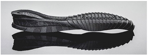 Materialise photo of 3dprinted shoe insole