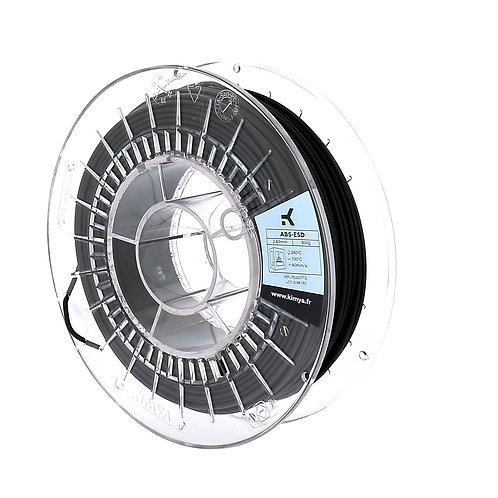 Kimya ABS ESD filament spool black