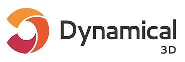 Dynamical 3D logo