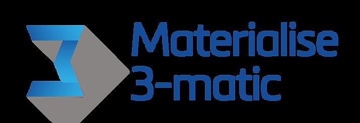 Materialise 3-matic_Blue_IconLeft_LockUp