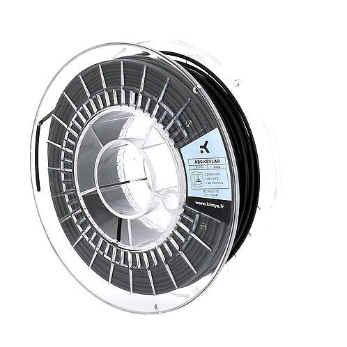 Kimya ABS kevlar filament spool black