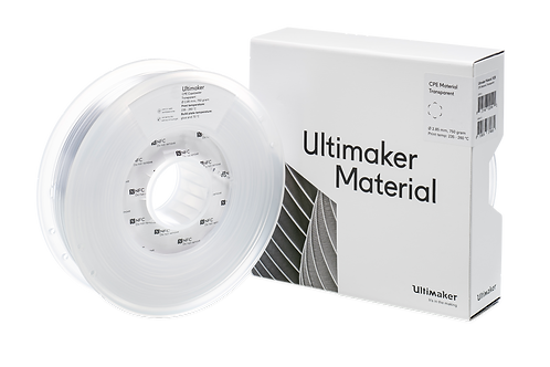 Ultimaker CPE filament clear