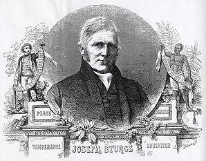 engraving of Joseph Sturge, originally p
