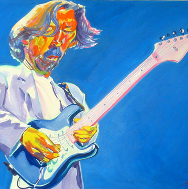 """Eric Clapton"", by Philip Burke"