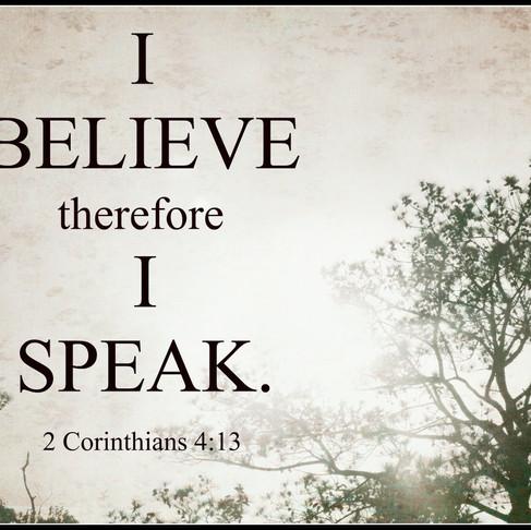 Speaking Our Faith