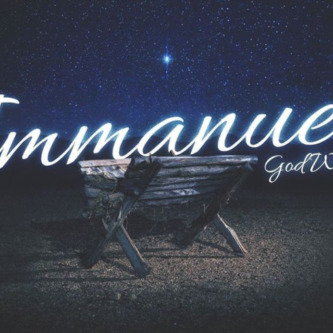 "Immanuel – ""God with Us"""