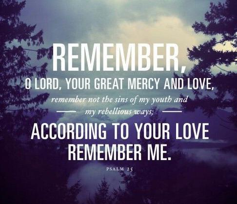 """""""God, Remember You"""""""