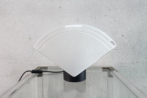 Fan-Shaped AV Mazzega Murano Glass Table Lamp, 1970s