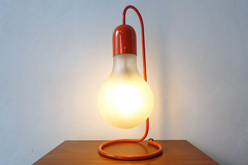 Red Table Lamp from Stilux Milano, 1970s