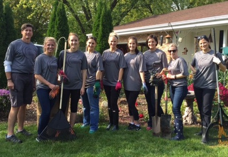 Jacobs Marketing Community Event - Fall Clean Up