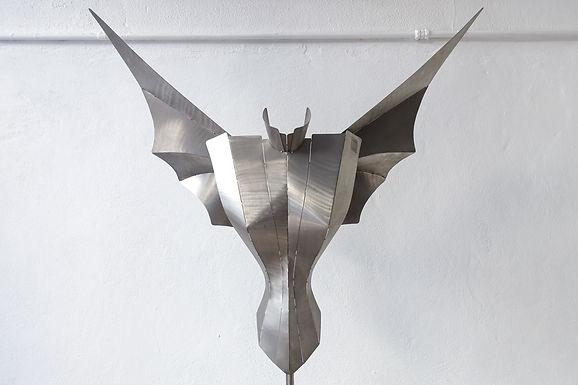 Sculptural Angel Floor Lamp by Reinhard Stubenrauch, 1990s