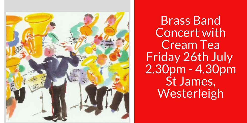Brass Band Concert with Cream Tea