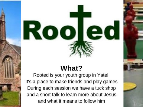 Rooted Youth Group Speak about Their Faith