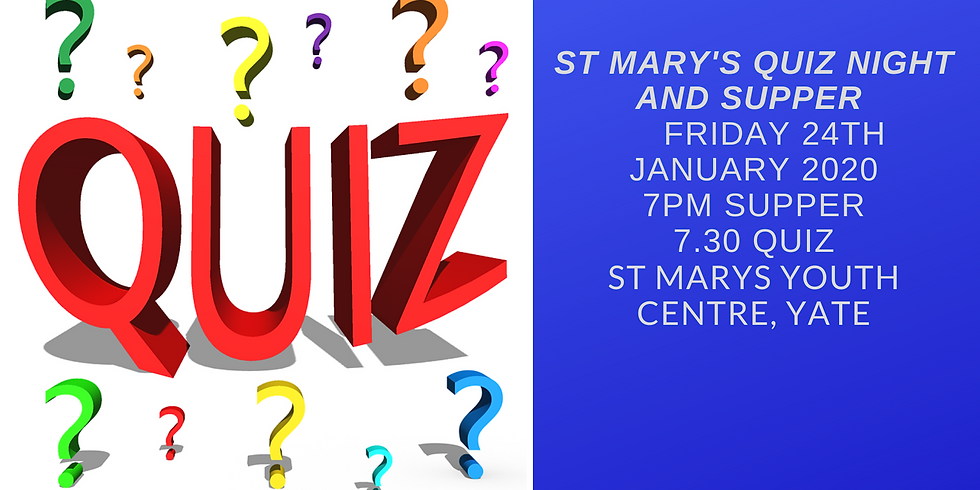 St Mary's Quiz and Supper