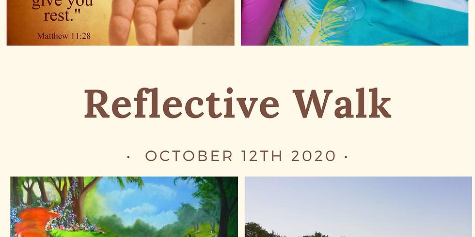 Socially Distant Reflective Walk