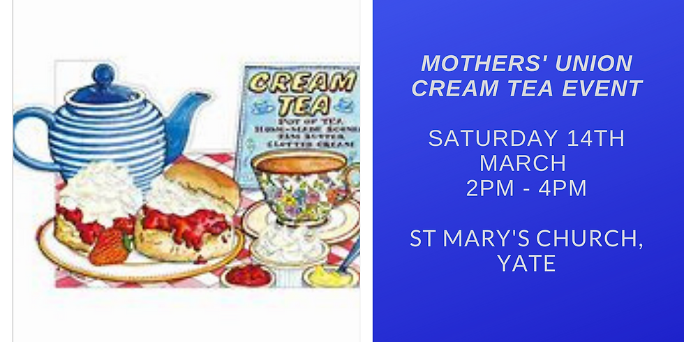 Mothers' Union Cream Tea Event
