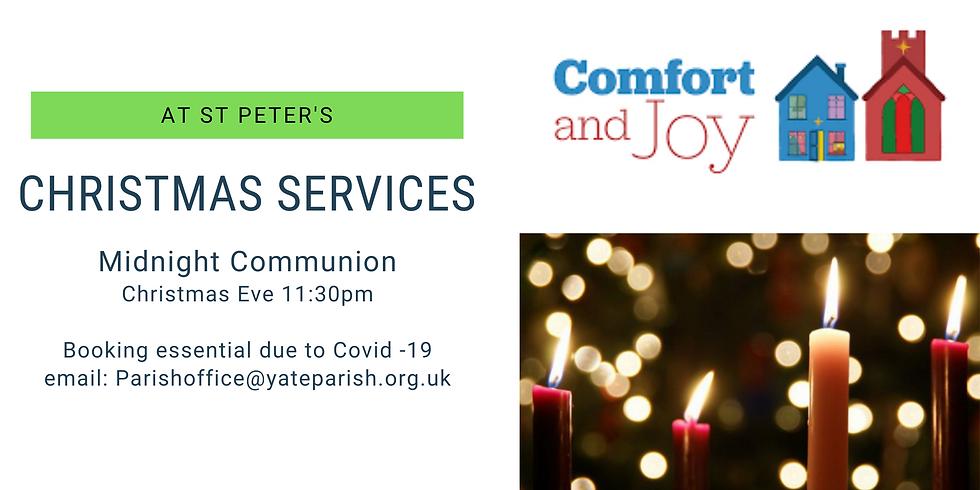 Midnight Communion St Peters