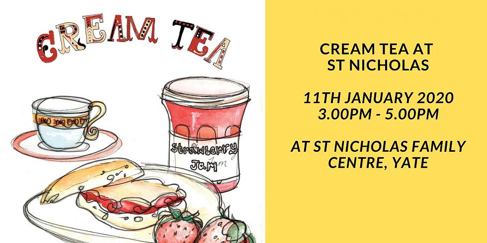 Cream Tea at St Nicholas