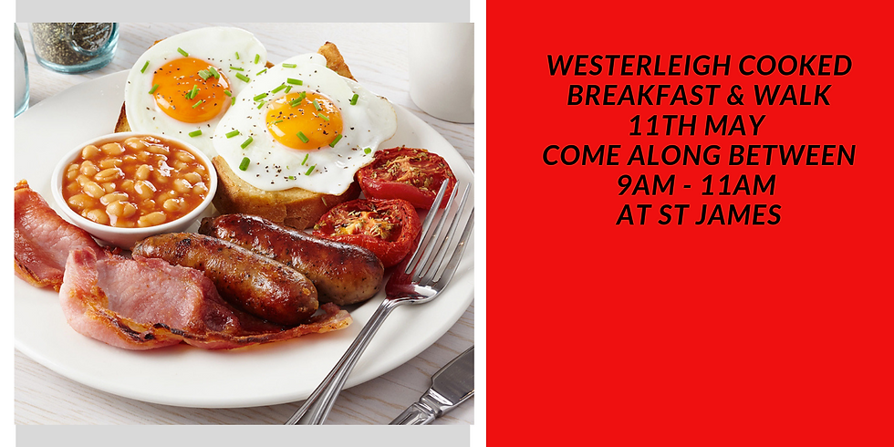 Westerleigh Cooked Breakfast and Walk