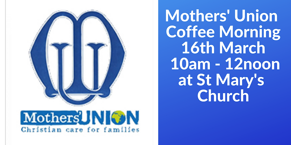 Mothers' Union Coffee Morning