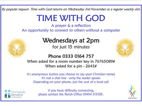 Time with God Restart