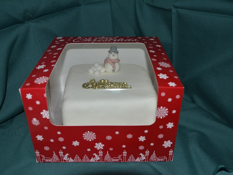 Order your Christmas Cakes now