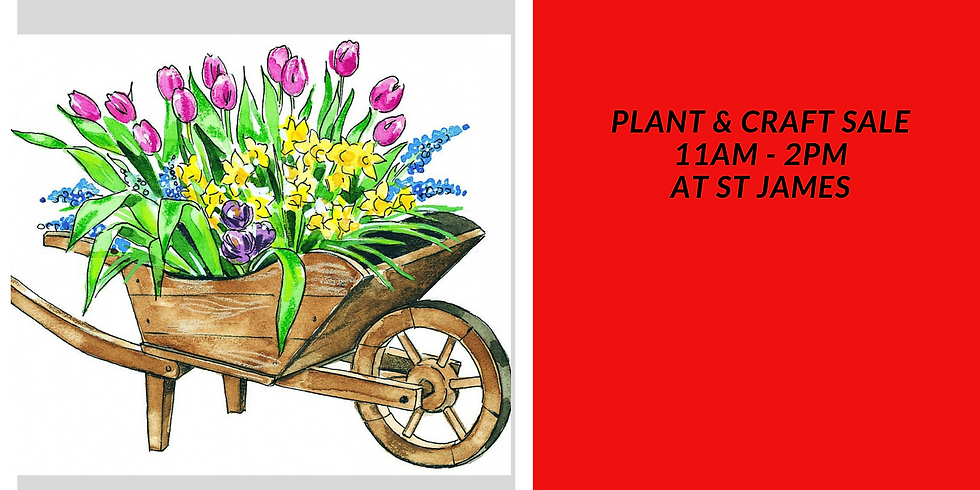 St James Plant & Craft Sale