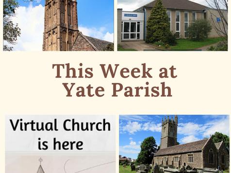 This week at Yate Parish (from Sunday 24th October)